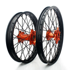 """21"""" 18"""" Front Rear Wheels For KTM 125 200 250 300 350 400 450 500 525 EXC EXC-F"""