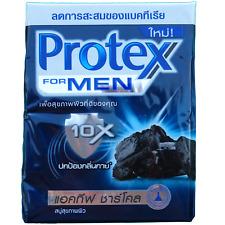 Protex for Men Antibacterial Bar Soap CHARCOAL 65 gram bars Pack of 4