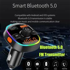 Auto FM Radio Transmitter Bluetooth MP3 Player Car Kit KFZ AUX Freisprechanlage