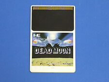 NEC PC-Engine Hu-Card DEAD MOON Card Only Import Japan