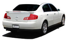 PRIMER UN-PAINTED SPOILER WING for INFINITI G35 4DR 2003-2006 LED INCLUDED