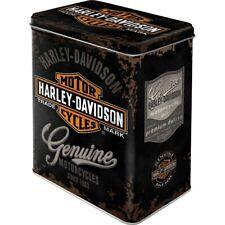 Harley Davidson Genuine Logo Vorratsdose Gr. L, Metall,2,8 ltr.,Hoard Box
