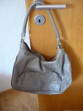 graue Handtasche von H&M mit Henkel und Trageriemen
