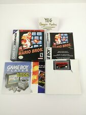 Classic NES Series Super Mario Bros. Gameboy Advance Complete in Box Canadian