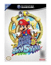 SUPER MARIO SUNSHINE GBC Nintendo GameCube Arcade Video Game Original UK Release