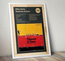 Miles Davis Album Print, Sketches of Spain Print, Wall Art, Jazz Art Print