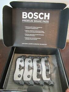 Bosch BP266 Disc Brake Pad Set-Quietcast Pads Front