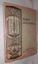 VECCHIO DIARIO SCOLASTICO 1933 1934Signorelli Liceo Tasso di Salerno Scuola di