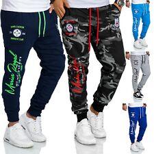 RMK Men's Jogging Pants Sport Fitness Neon Camouflage New H.536