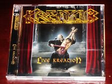 Kreator: Live kreation Juego de 2 CD 2003 STEAMHAMMER Alemania SPV 089-74542 DCD