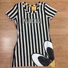 Pancoat Equipment Shirt Dress Rare Striped Popeyes Pop Eyes Black White KPOP