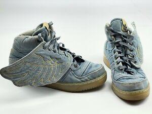 Adidas Originals sneakers Jeremy Scott Wings Denim shoes JS Blue v24621 size 5,5