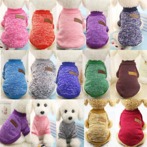 Cute Pet Coat Dog Jacket Winter Clothes Puppy Cat Sweater Clothing Coat Apparel