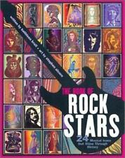 The Book of Rock Stars: 24 Musical Icons That Shine Through History-ExLibrary