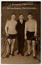 STUTTGART Sechstagerennen 1929 Buschenhagen & Frankenstein * Originale Foto-AK