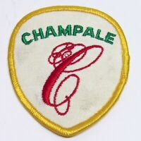 Vintage Champale Malt Liquor Beer Advertising Patch Embroidered Shield Brewery