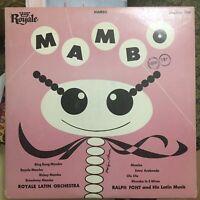 """Royale Mambo Long Play LP (10"""") Mambo 1954"""