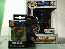 Marvel Guardians Of The Galaxy Funko Pop ToysRus Exclusive Star-Lord W Keychain