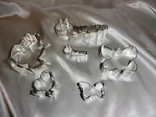 Garden Butterfly Worm Frog Mama and Baby cookie cutter set baking supplies
