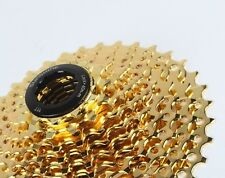 SUNSHINE Cassette MTB Mountain Road Bike Bicycle 10 Speed 11-36T Cassettes Gold