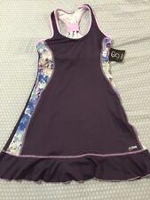 SOFIBELLA Women's Tennis Dress, Small New Purple