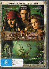 PIRATES OF THE CARIBBEAN DEAD MAN'S CHEST - DVD R4 (2006)  2-disc set VG
