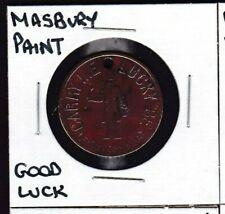Masbury Paint Good Luck/Advertising Token