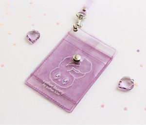 Esther Bunny Twinkle Neck case Card wallet Multi pocket Unique Cute Design