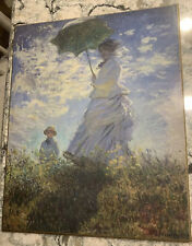 Woman with Parasol Claude Monet Hard Board Print - National Gallery of Art