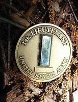 US Army Officer 1st Lieutenant challenge coin