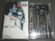 BASIC INSTINCT soundtrack Cassette Tape ost Jerry Goldsmith score Varese Saraban