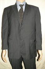Corneliani Mens Gray Check 100% Wool Suit Jacket sz 54/44 Pants 38 x 31
