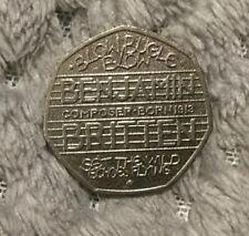 2013 Benjamin Britten 50p 100th Anniversary Birth - Uncirculated Coin - Capsuled