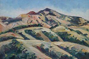 Mount Diablo Plein Air Impressionism Landscape John Kilduff 24 x 36