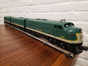 Lionel 2356 Southern F-3 ABA Diesel Set - mixed, not original. Runs great