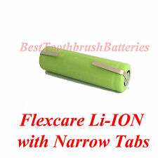 Sonicare Flexcare Toothbrush Replacement Repair Battery Li-ION 800 mAh w. Tabs