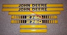 JD2750 2750 HOOD DECAL SET KIT for John Deere Tractor  - NEW!