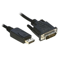 3M DisplayPort to DVI Cable Lead Display Port Adaptor / Converter 3 Metre