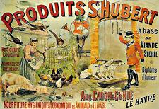 Art Deco Produits St Hubert Farm Food Animal  French  Ad  A3 Art Poster Print