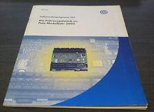 VW Polo IV  Typ 9 N  Fahrzeug  Elektrik  SSP 265 Technischer  Stand  10/2001
