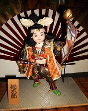 Vintage Japanese Momotoro Boy Doll RARE FREE SHIPPING