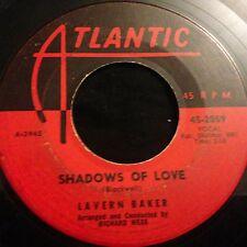 Lavern Baker Shadows of Love / Wheel of Fortune on Atlantic 1960