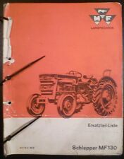 Massey Ferguson tracteurs MF 130 pièce de rechange liste