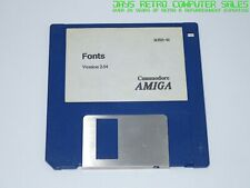 WORKBENCH FONTS v2.04 OPERATING SYSTEM OS - COMMODORE AMIGA FLOPPY DISK SOFTWARE