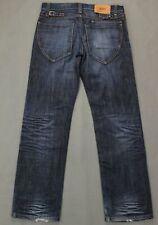 "HUGO BOSS Mens Blue Denim HB104.2 Regular Fit JEANS - Size Waist 32"" - Leg 32"""