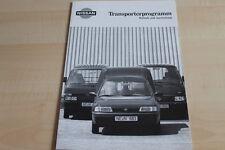 109551) Nissan Urvan + Vanette - tech. Daten & Ausstattungen - Prospekt 02/1993