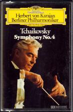 "HERBERT VON KARAJAN "" TCHAIKOVSKY SYMPHONY N°4 "" MUSICASSETTA NUOVA"