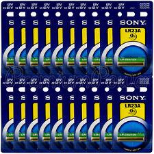 20 x SONY Alkaline LR23A batteries 12V A23 MN21 3LR50 LRV08 Alarm Calculator