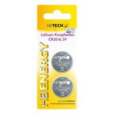 Heitech Litio Pilas de botón, Set 2 Embalar, CR2025, 150 mAh, 3 V - Kit Baterías