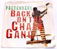 The Pretenders Back On The Chain Gang '82 Sire 29840 Punk Rock 45 RPM Pic Slv NM